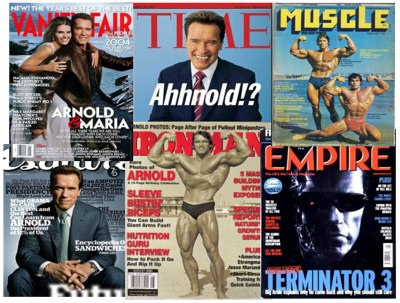 Arnold reached the highest levels of success in many areas.
