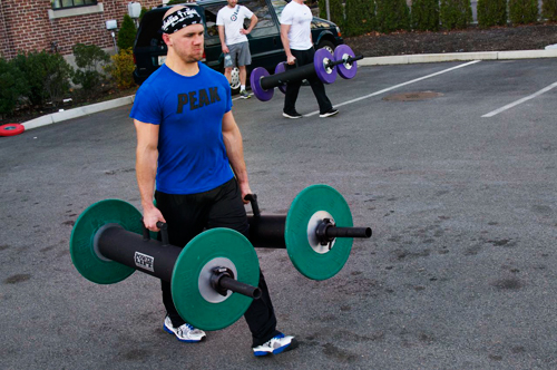 Want to work your core? Try strongman training.