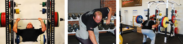 Shown training at the Poliquin Strength Institute, world champion shot putter Adam Nelson is an example of the Fire type of athlete.
